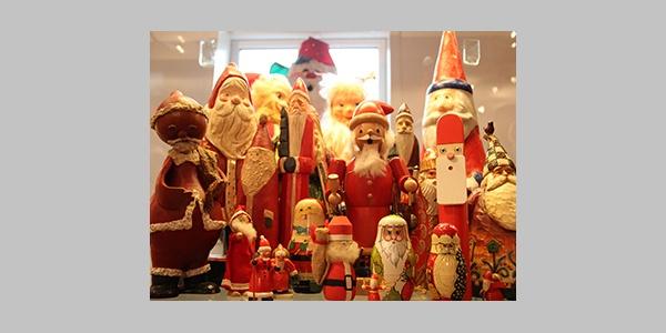 Ausstellung im Weihnachtsmannhaus