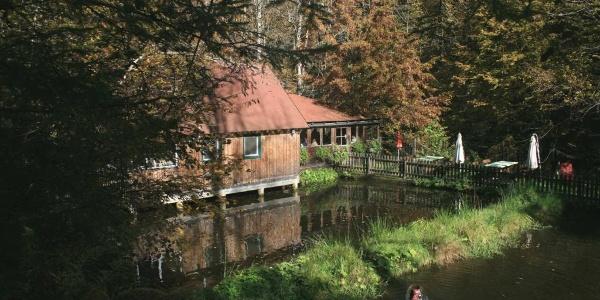 Fischerhütte an der Laßnitz