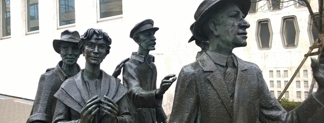 Die Raßler. Denkmal für die Einpendler nach Pforzheim.