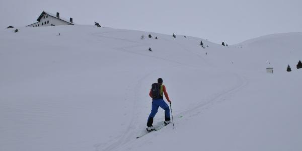 Anstieg zur Adolf-Pichler-Hütte