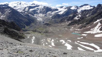 Wildspitze und Co. über dem Aufstiegsweg