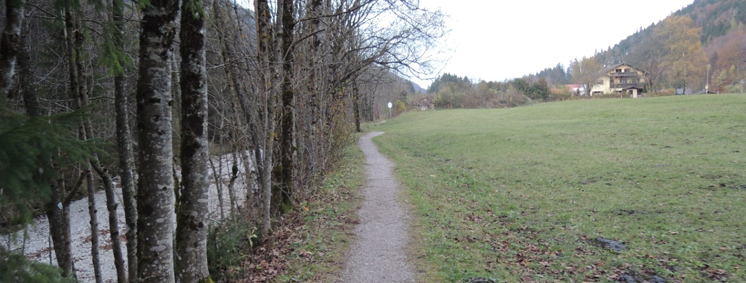 Wanderweg entlang der Prien