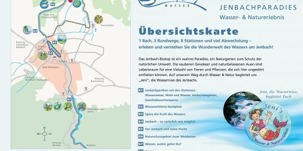 Übersichtskarte Jenbachparadies