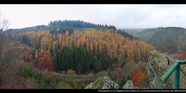 Perlenbachtal von der Engelsley zwischen Monschau und Perlenbachtalsperre