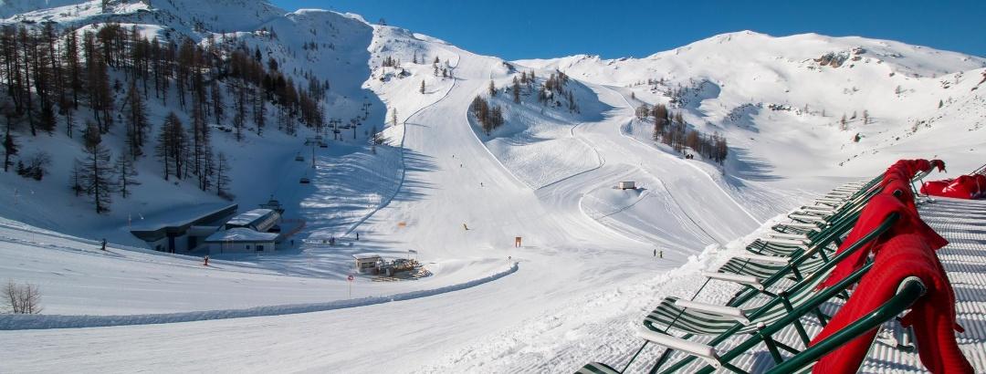 Skifahren am Gamskogel