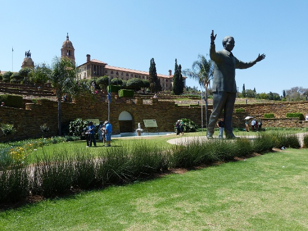 Nelson Mandela Denkmal in Pretoria