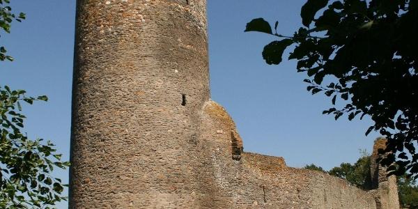 Burgruine Baldenau_Luftbild