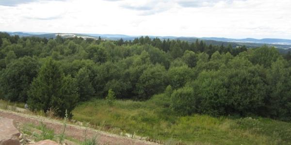 Rundum-Aussicht vom Steinberg zur Porta Westfalica