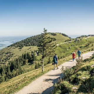Panoramaweg zur Steinlingalm