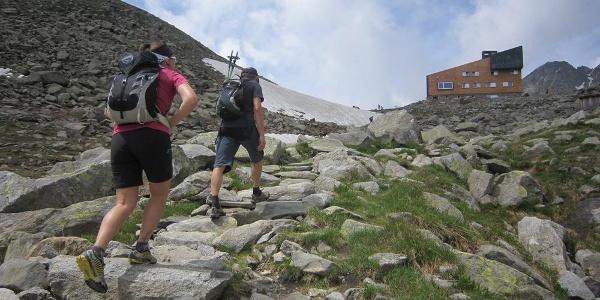 Beim Aufstieg vom Neves-Stausee
