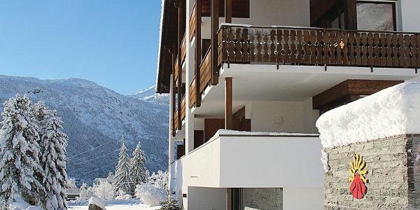 Hotel Restaurant Pazzola im Winter