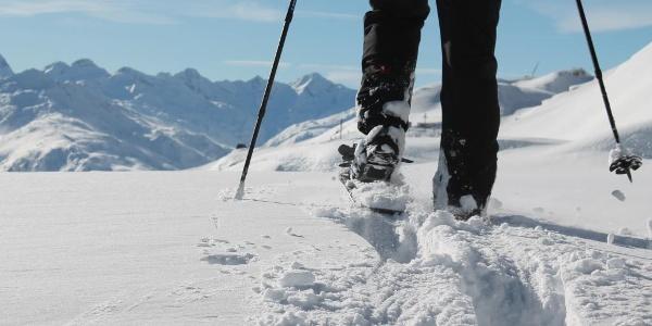 Wandern in alpiner Kulisse