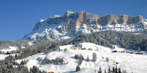 Passeggiata invernale per il masi dell'Alta Badia