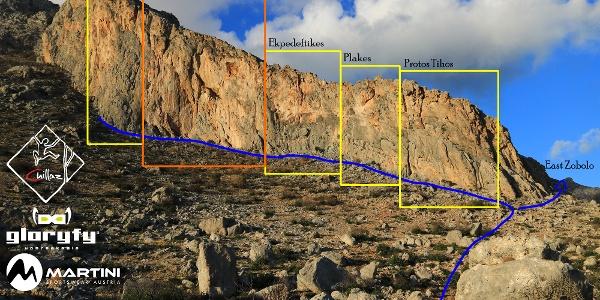 Zobolo - Aspra - Übersichtsbild - Topo