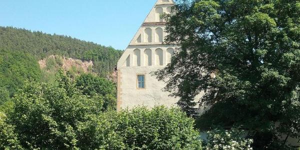 Ehemaliges Gästehaus des Klosters; Heute Pfarrhof in Cronschwitz