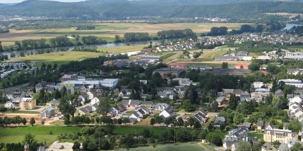 Ausblick auf die Stadt Schweich