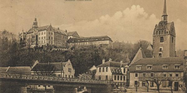 Ansichtskarte 1903 - Schloss Osterstein - Gera