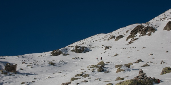 Am Ende der ersten Steilstufe