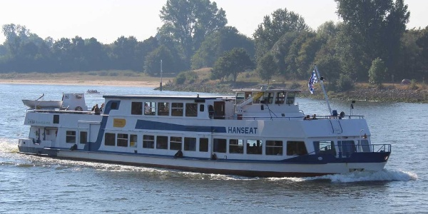 """Die """"Hanseat"""" - ein Schiff der Hal Över - Flotte"""