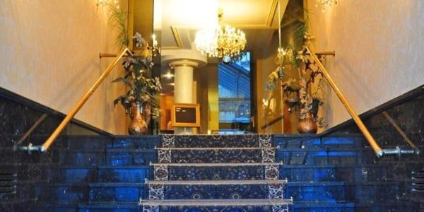 Eingangsbereich Hotel Alexandra