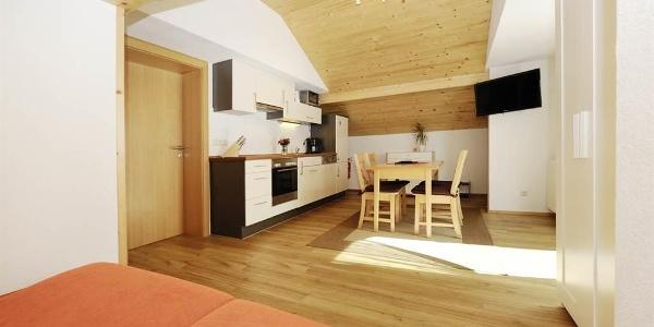 Küche Ferienwohnung Frohe Aussicht