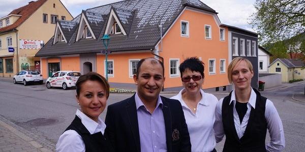 Das Team von Pizzeria Danieli
