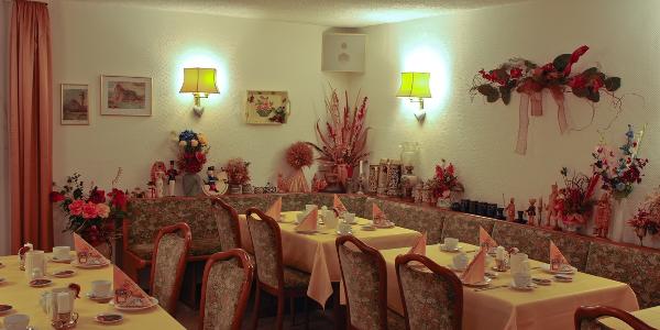 Hotel garni Morgensonne Frühstücksraum