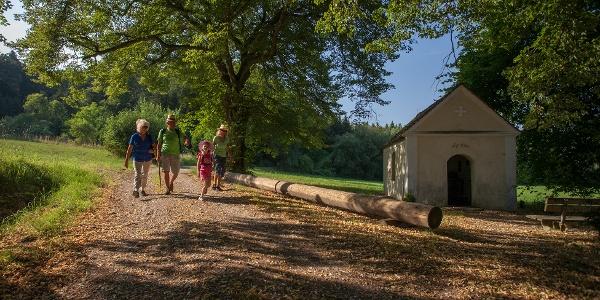 """Iller-Auwald-Tour - Kapelle """"Herrgöttle"""""""