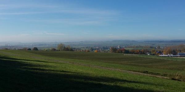 Blick über die Baar bei Sunthausen