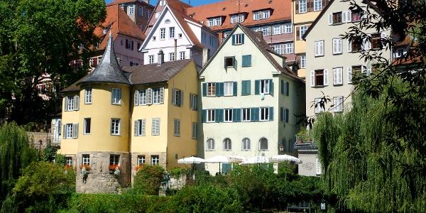 Neckarfront in Tübingen