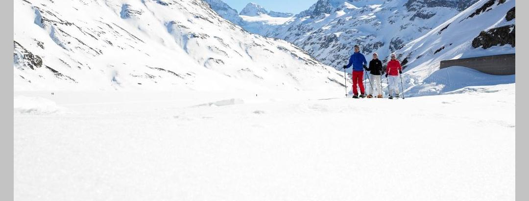 Winterwandern in der Silvretta-Bielerhöhe