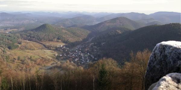 ... auf das Grenzdorf Nothweiler