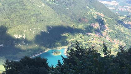 Lake Tenno from above