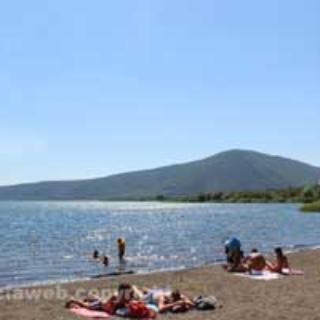 Lago di Vico - spiagge