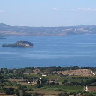 Lago di Bolsena - Panorama dall'alto