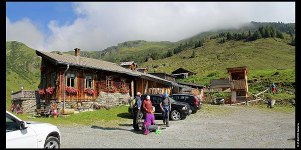 Bürglhütte oberhalb von Stuhlfelden am Pinzgauer Spaziergang