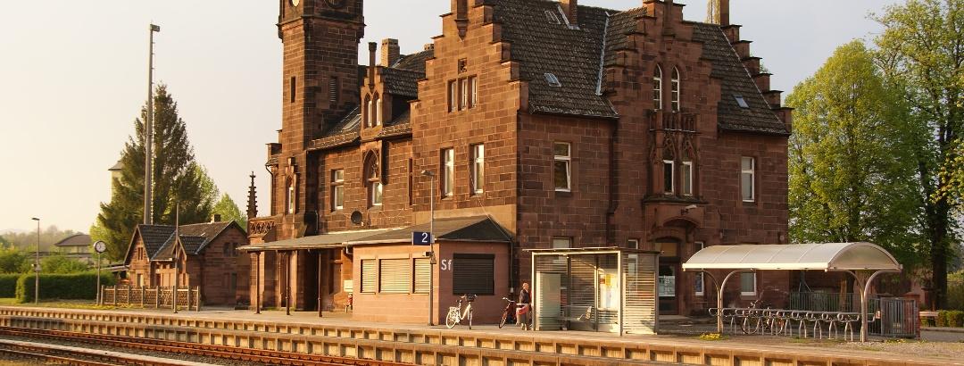 Historisches Bahnhofsgebäude Stadtoldendorf