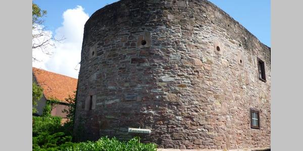 Halbrunde Bastion