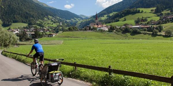 Tour bici Rablà - Merano - San Leonardo Val Passiria