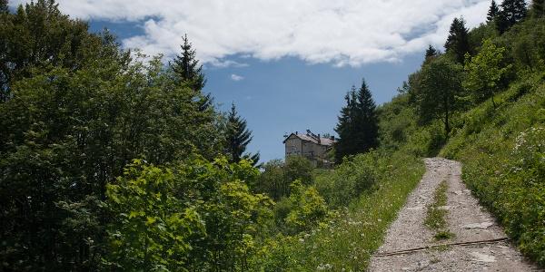 Endlich die Berghütte Pernici!