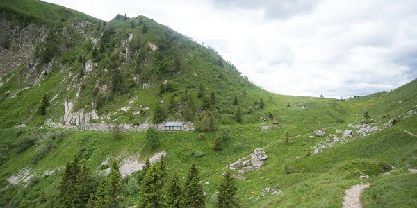 Ruinen aus dem I. Weltkrieg (Saval)