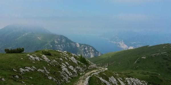 Il sentiero sul Monte Baldo