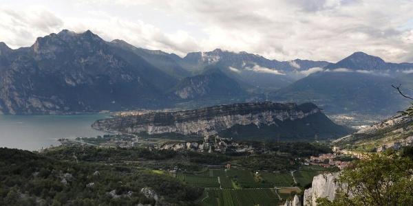 View fron the road to Malga Zures