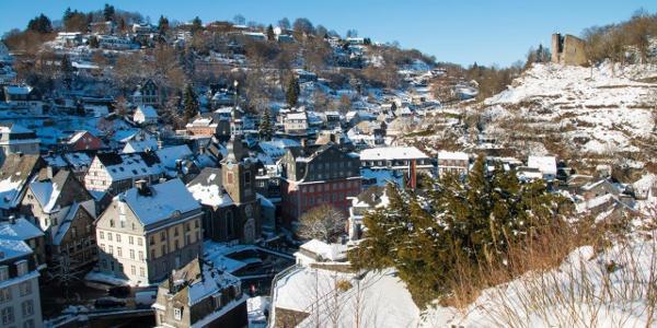 Der historische Ortskern von Monschau