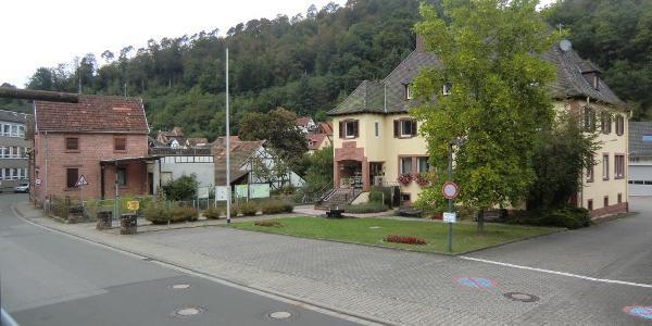 Start und Ziel: Elmstein Bürgermeisteramt