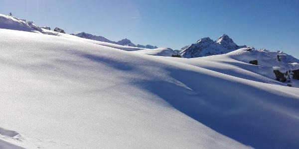 Schneeschuhtour auf das Muttjöchle