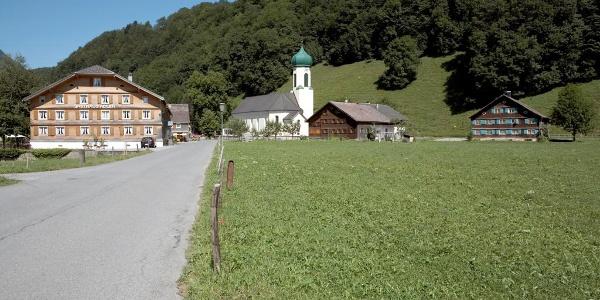 Ortsbild Schnepfau