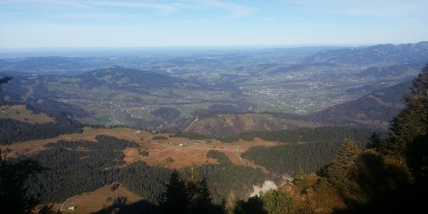 Ausblick Hangspitze