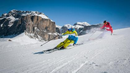 Skifahren im Trentino