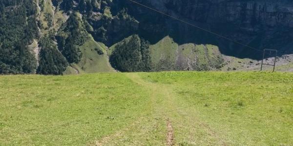 Richtung Chlital, Isenthal